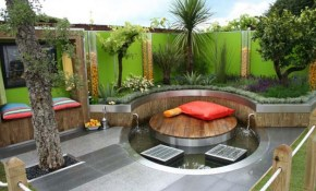 Small Backyard Design Ideas Budget Utrails Home Remodeling For regarding Decorating Small Backyards