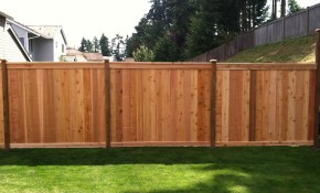 Smart Wood Fence Designs Home Interior Outdoor pertaining to Wood Fence Backyard
