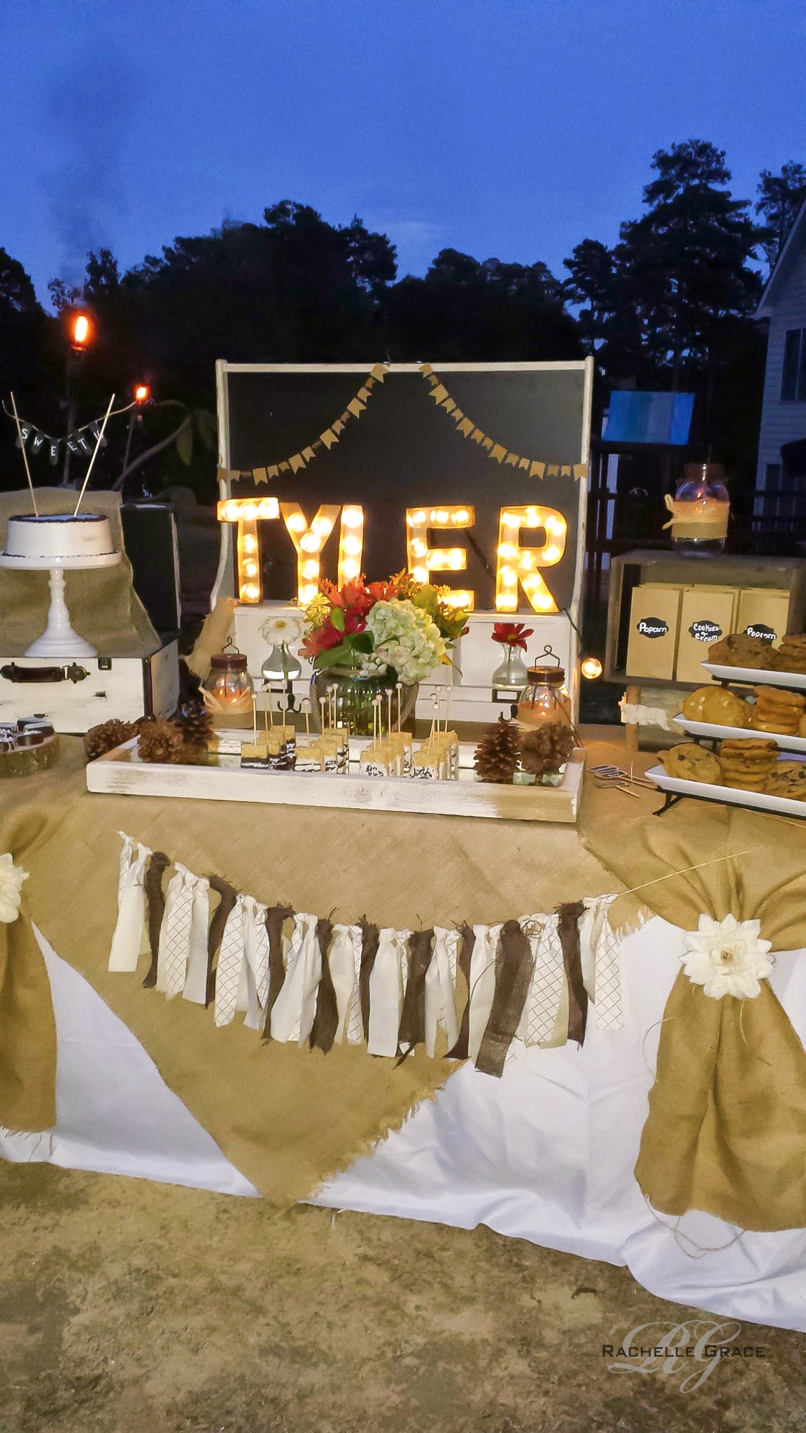 Sweet 16 Backyard Bonfire Diy Marquee Light throughout 12 Some of the Coolest Designs of How to Build Sweet 16 Backyard Party Ideas