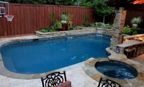 Tagged Small Backyard With Pool Landscaping Ideas Trends pertaining to 11 Genius Ideas How to Make Small Backyard Pool Landscaping Ideas