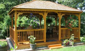 Unique Outdoor Gazebo Ideas 1 Backyard Deck Designs With Gazebos with Ideas For Gazebos Backyard