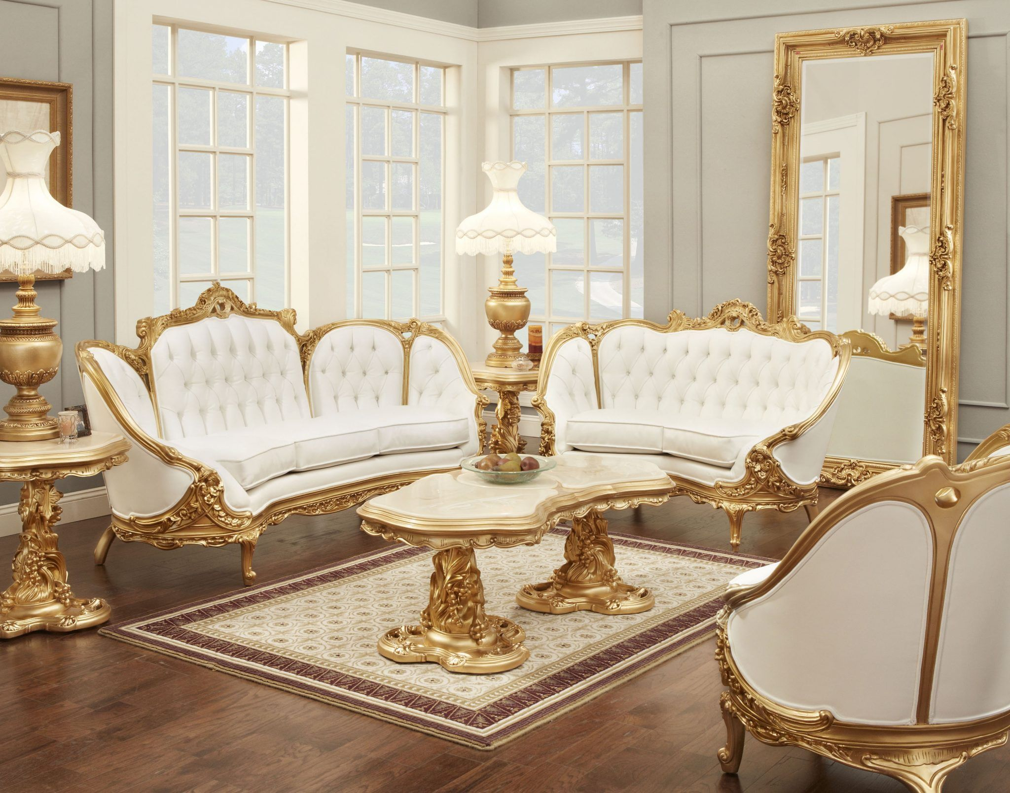 Victorian Living Room 634 Room Victorian Living Room Gold Room regarding Victorian Living Room Set