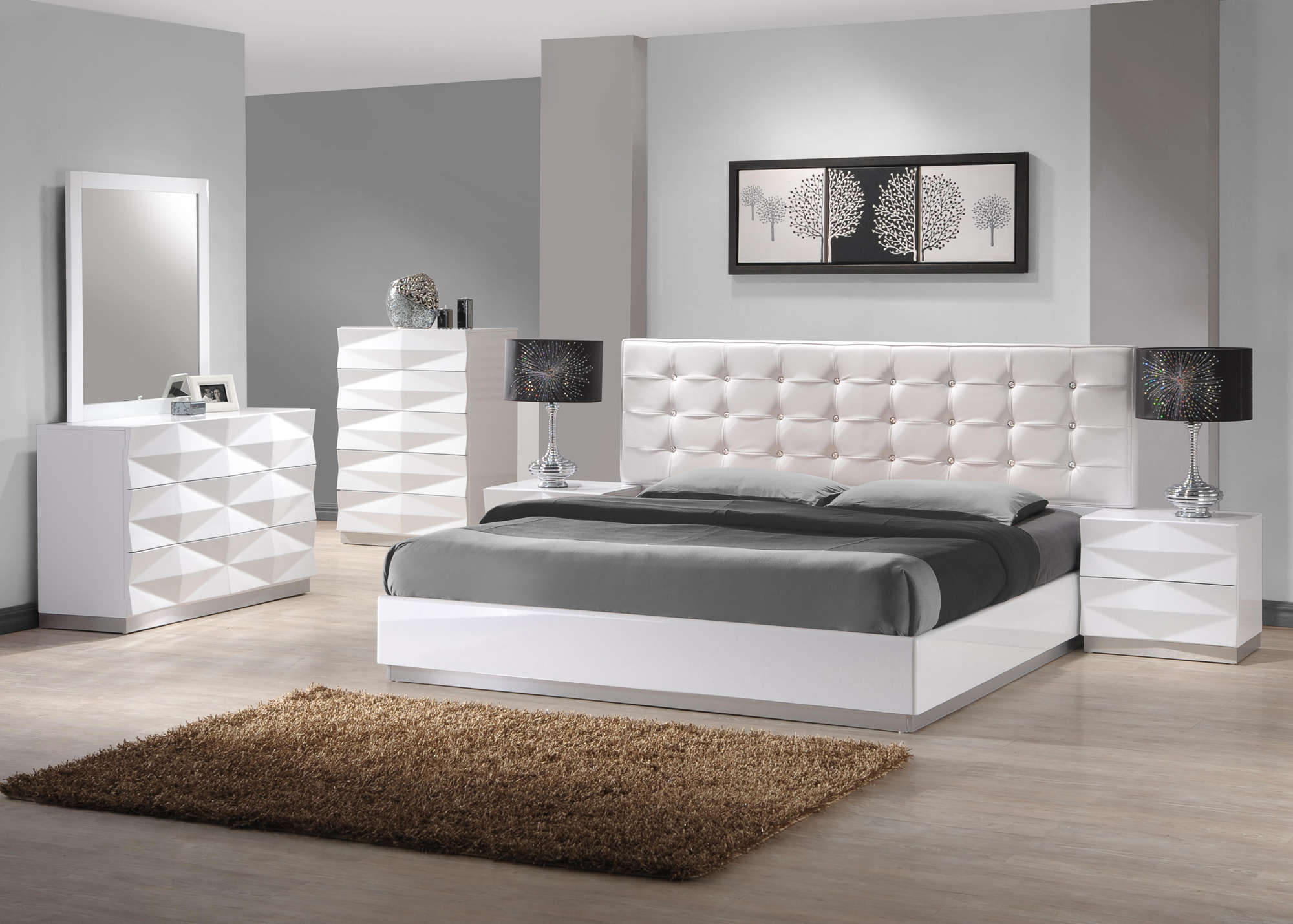 White Furniture Bedroom Ideas Eo Furniture with regard to 11 Clever Tricks of How to Make White Modern Bedroom Ideas