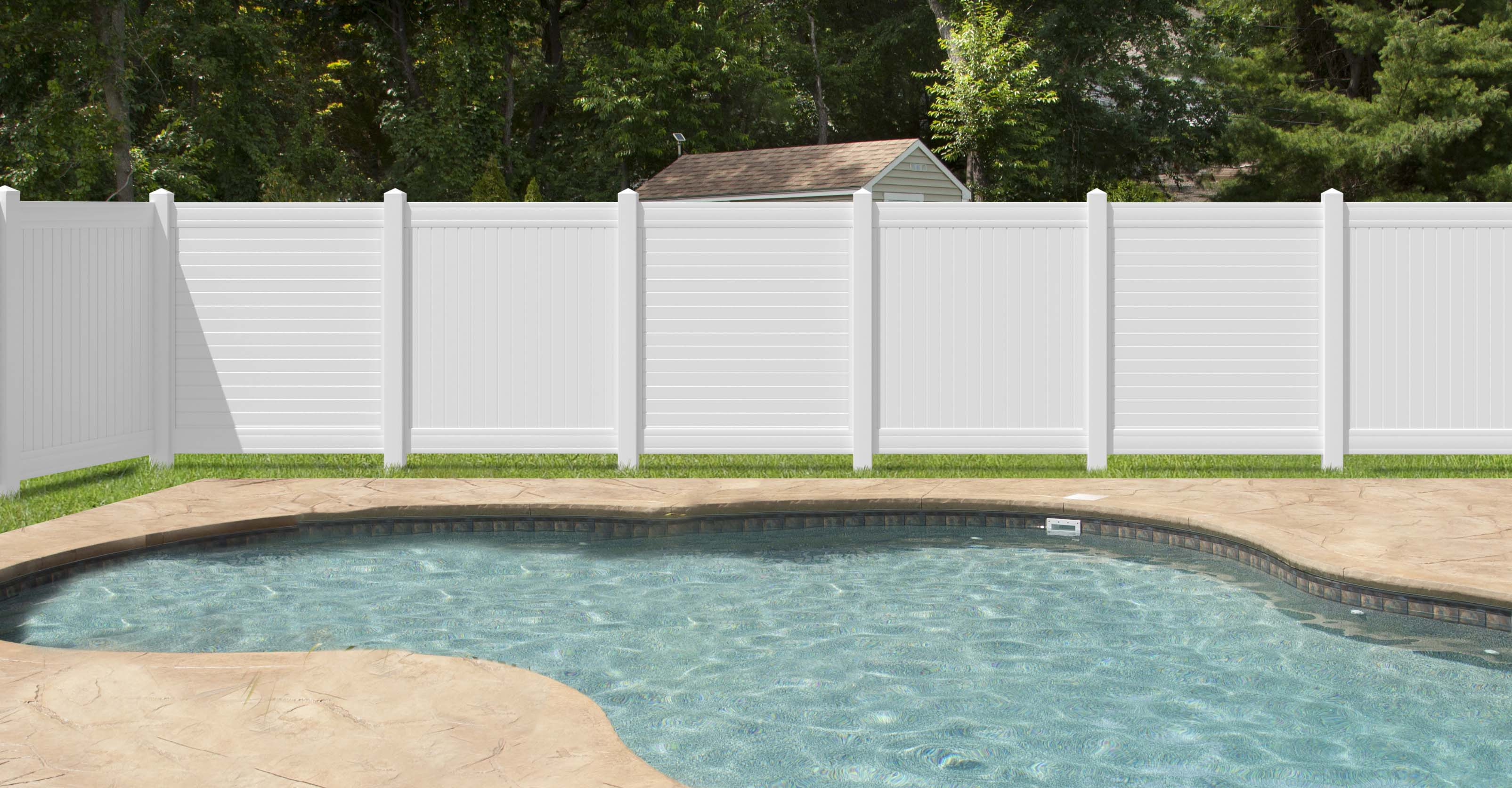 Wood Fencing Fencing The Home Depot in Cheap Fences For Backyard