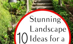 10 Stunning Landscape Ideas For A Sloped Yard Yard Ideas inside Backyard Hillside Landscaping Ideas