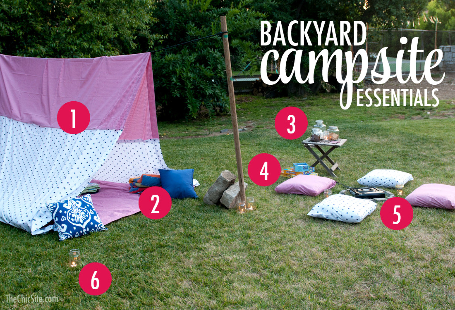 12 Awesome Designs Of How To Improve Backyard Camping Ideas inside Backyard Camping Ideas