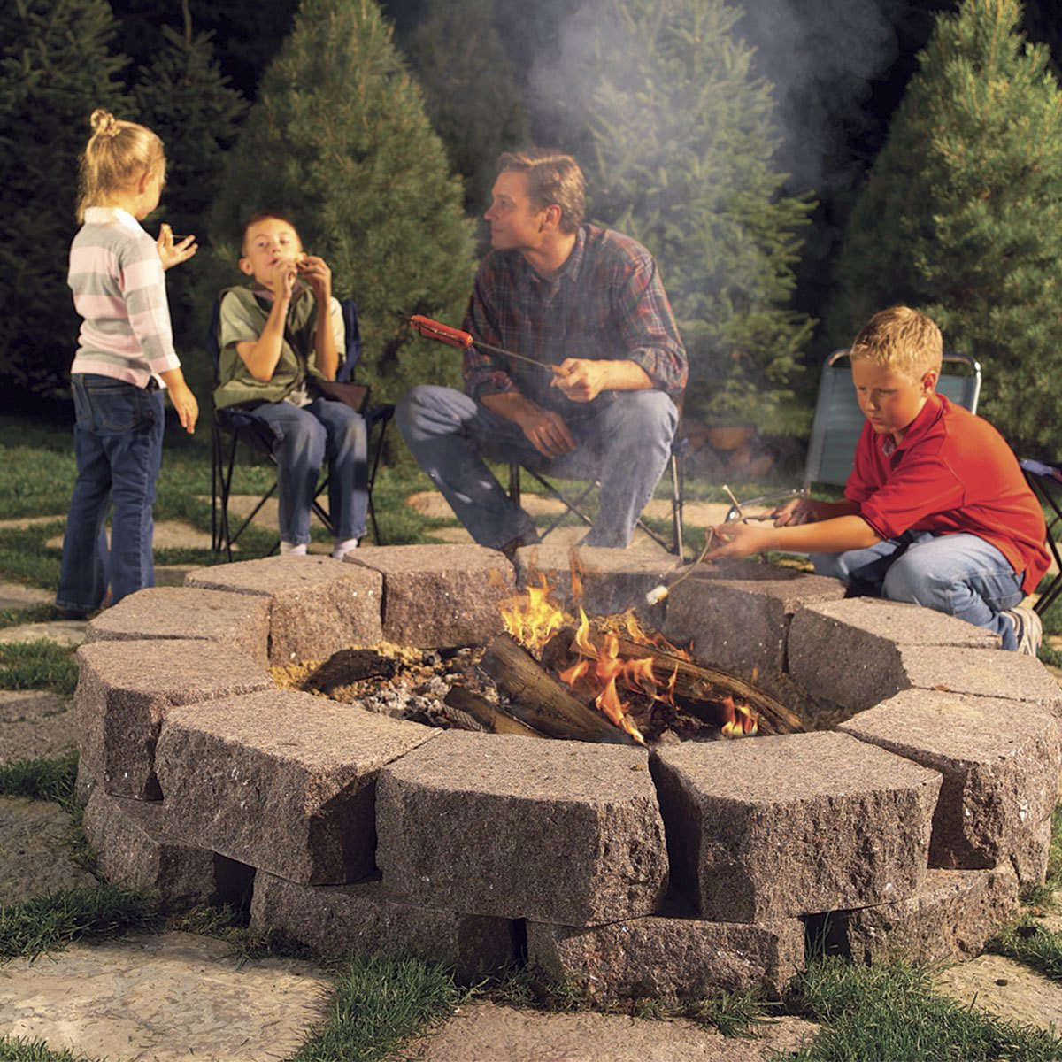 12 Great Backyard Fire Pit Ideas The Family Handyman with 11 Genius Initiatives of How to Improve Fire Pit Backyard Ideas