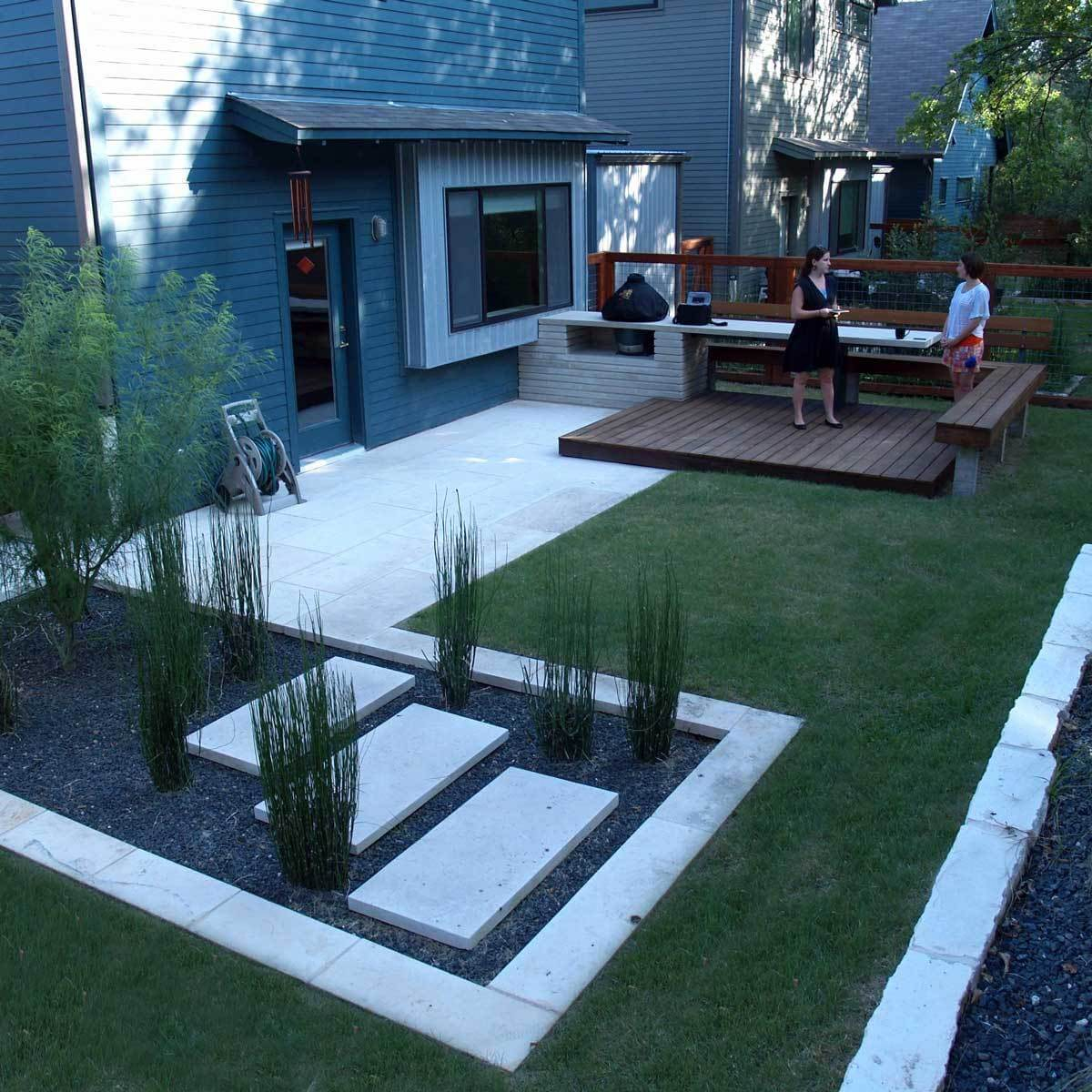 15 Perfect Patio Designs The Family Handyman within Backyard Patios Ideas
