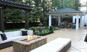 15 Stone Fire Pits To Spark Ideas inside 11 Genius Initiatives of How to Improve Fire Pit Backyard Ideas