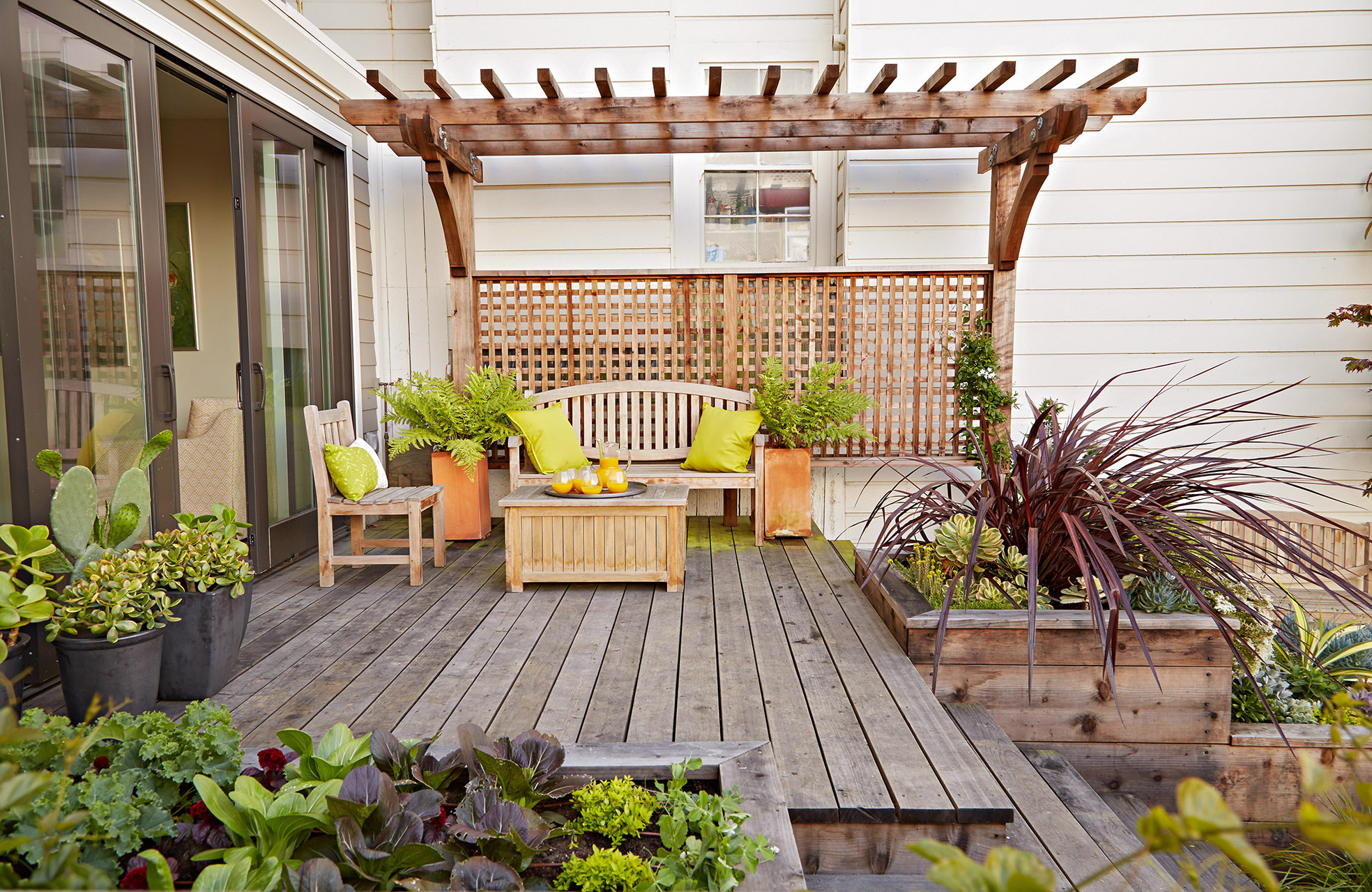 16 Simple Solutions For Small Space Landscapes pertaining to 11 Smart Designs of How to Craft Deck Backyard Ideas