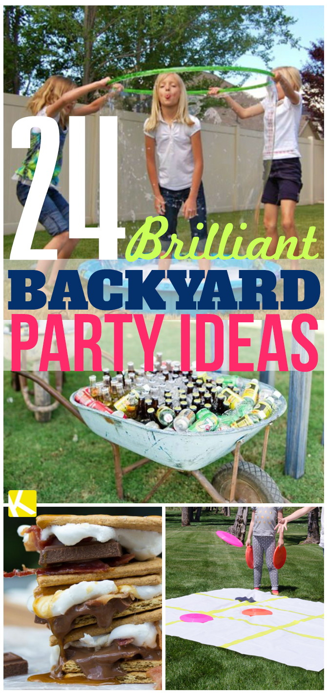 24 Brilliant Backyard Party Ideas The Krazy Coupon Lady intended for 11 Smart Ways How to Make Ideas For A Backyard Party
