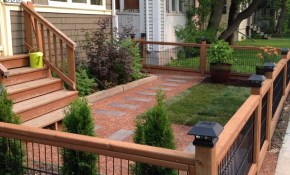 30 Incredible Front Yard Landscaping Ideas Front Yard Ideas intended for 15 Smart Tricks of How to Improve Ideas For Backyard Fences