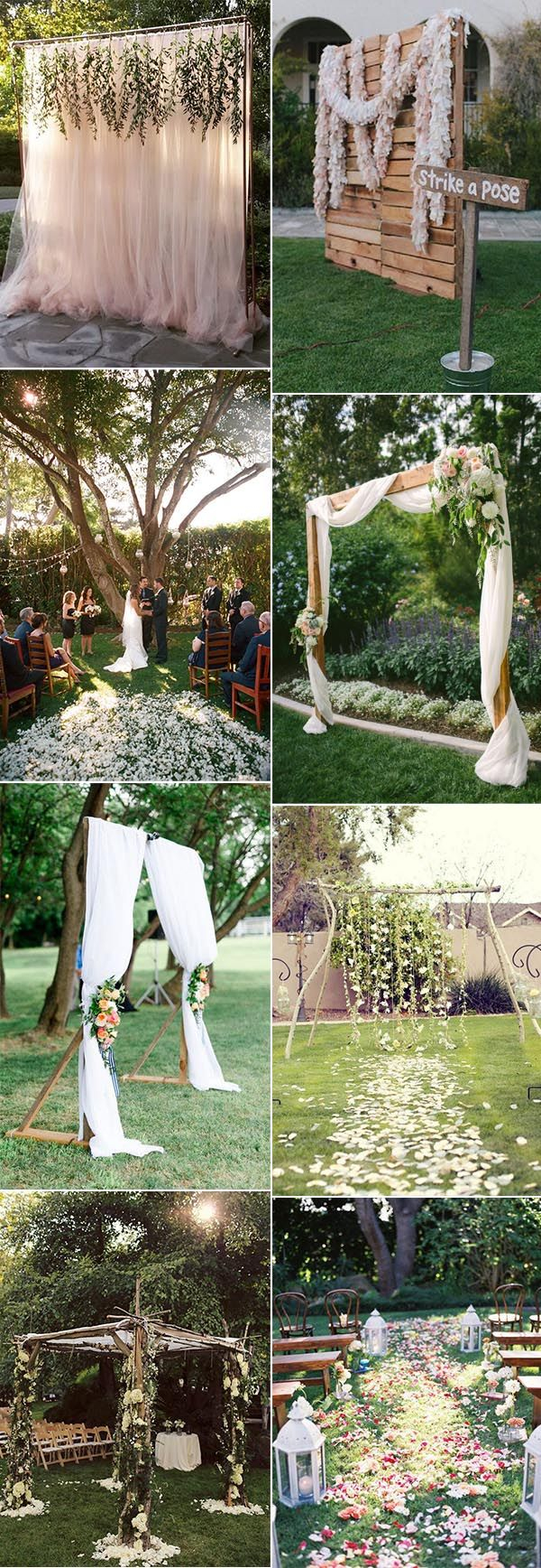 30 Sweet Ideas For Intimate Backyard Outdoor Weddings with Vintage Backyard Wedding Ideas