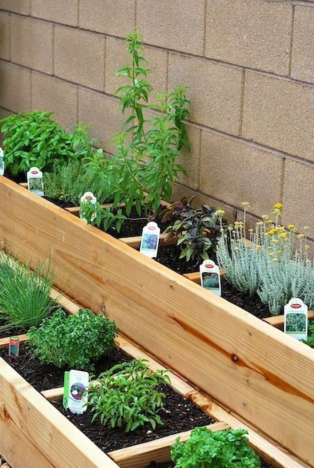 40 Adorable Diy Container Herb Garden Design Ideas inside Backyard Herb Garden Ideas