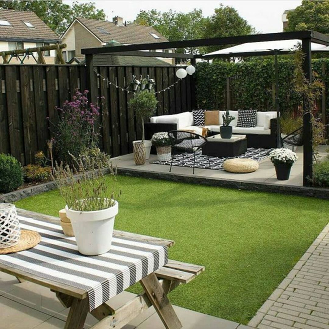 47 Garden Design Ideas That Are Suitable For Relaxing With with regard to Small Backyard Patio Ideas