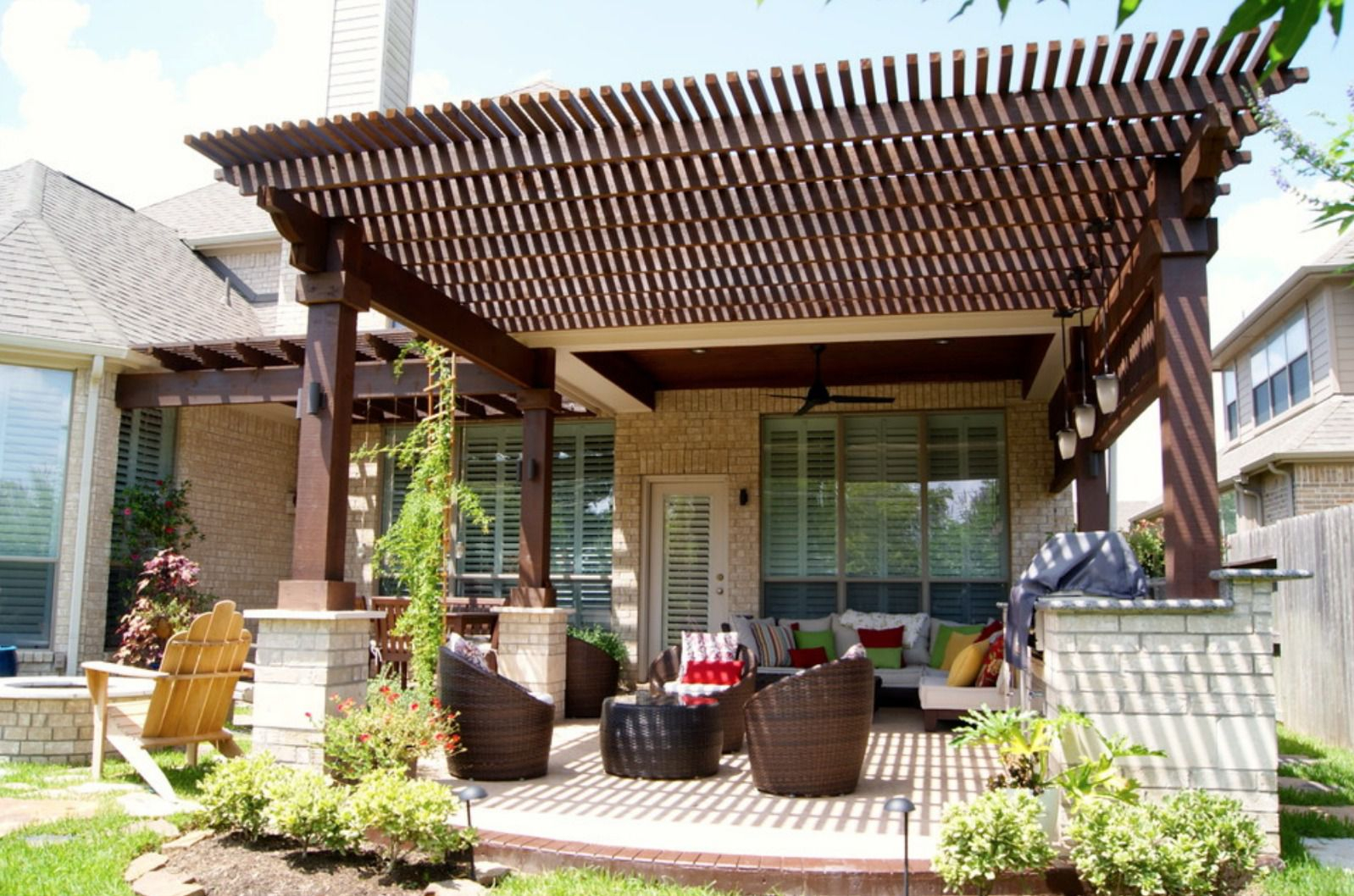 50 Stylish Covered Patio Ideas with regard to Backyard Covered Patio Ideas