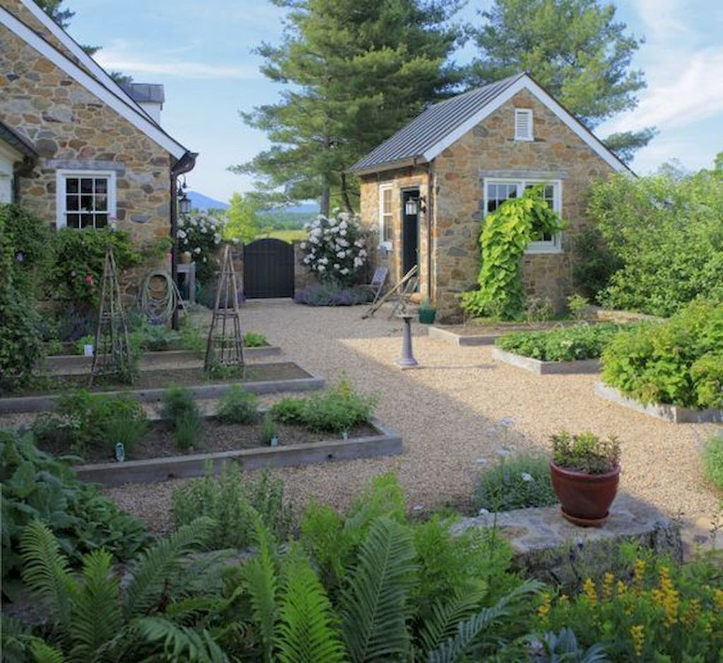 70 Magical Side Yard And Backyard Gravel Garden Design Ideas pertaining to Backyard Gravel Ideas