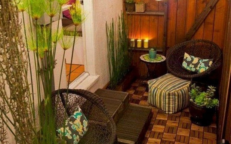 80 Best Small Apartment Balcony Decorating Ideas with Apartment Backyard Ideas