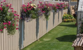 9 Top Backyard Fence Decorating Ideas Photos Home inside 13 Clever Ways How to Makeover Backyard Fence Decorating Ideas