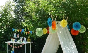 A Summer Backyard Camping Party With Free Printables Party intended for 12 Genius Ways How to Craft Party Backyard Ideas