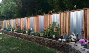 Affordable Backyard Privacy Fence Design Ideas 48 Metal Fencing for Backyard Fence Design