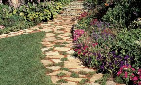 Affordable Garden Path Ideas Family Handyman pertaining to 15 Awesome Ideas How to Make Backyard Walkway Ideas