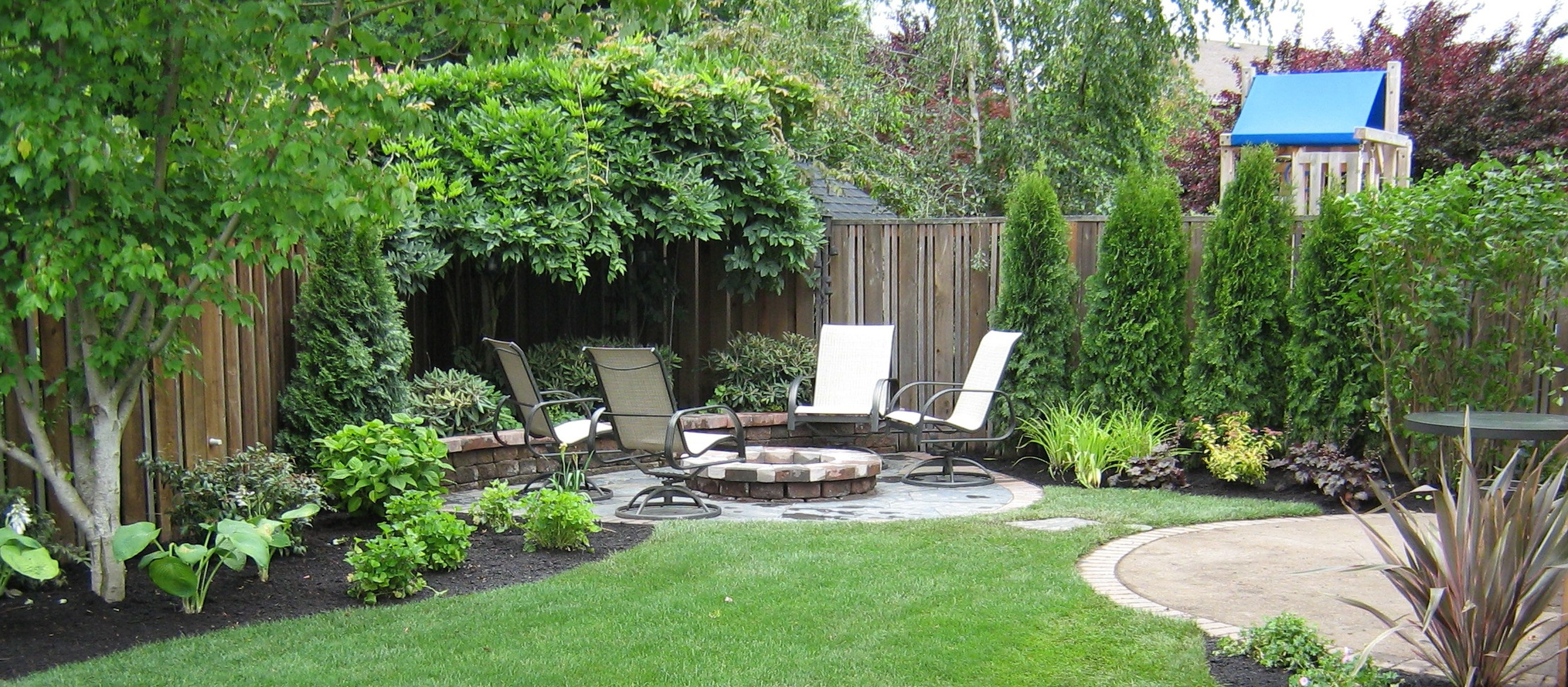 Amazing Ideas For Small Backyard Landscaping Great in Landscape Small Backyard
