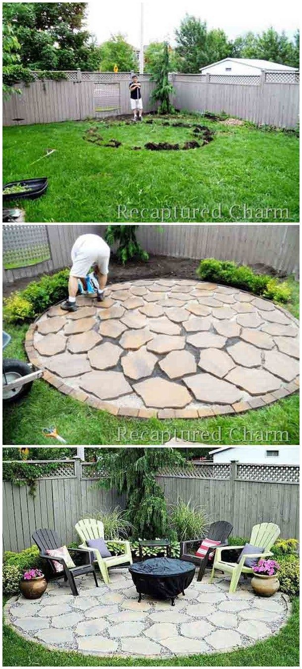Backyard 25 Easy And Simple Landscaping Ideas For Beautiful in 10 Smart Initiatives of How to Makeover How To Landscape A Backyard On A Budget