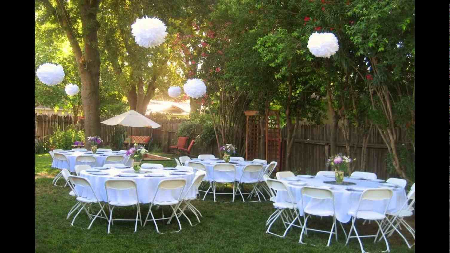Backyard Bbq Backyard Frontyard Landscape Fence regarding Backyard Bbq Wedding Ideas On A Budget