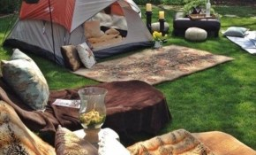 Backyard Camping Tent Ideas 160 Decoor pertaining to 11 Clever Concepts of How to Craft Backyard Camping Ideas