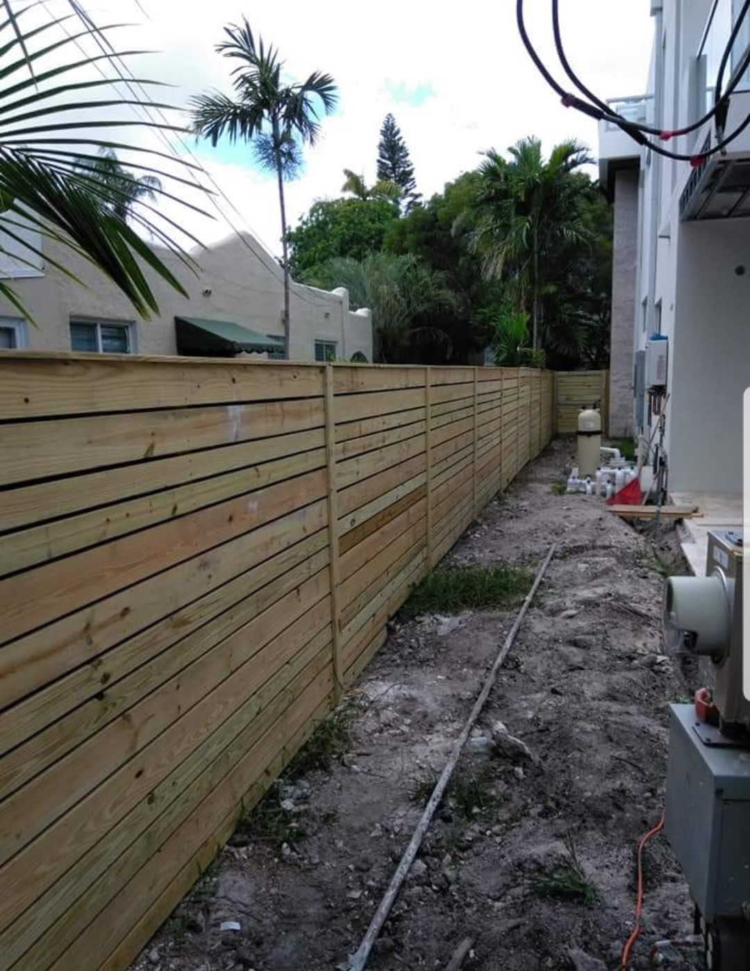 Backyard Fence Styles Installation In Coconut Creek Fl Backyard intended for Backyard Fence Company