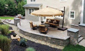 Backyard Patios Design Ideas Cornerstone Wall Solutions for 13 Awesome Designs of How to Improve Small Backyard Patio Ideas