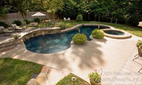Backyard Pool Landscaping Ideas Great Outdoors Pool Landscaping with regard to Backyard Pool Landscaping
