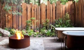 Backyard Privacy Fence Landscaping Ideas On A Budget 391 within Ideas For Privacy In Backyard