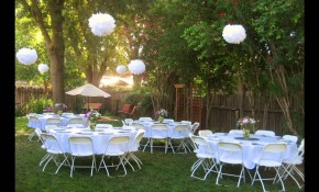 Backyard Wedding Reception Ideas for Decorating Backyard Wedding
