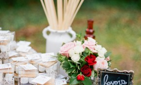Colorful Backyard Wedding With Eclectic Vintage Charm in Vintage Backyard Wedding Ideas