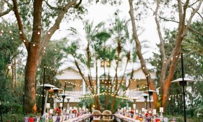 Colorful Backyard Wedding With Eclectic Vintage Charm with regard to Vintage Backyard Wedding Ideas