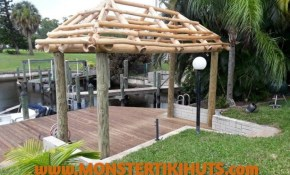 Cool Backyard Tiki Huts Ideas Monster Tiki Huts within 11 Some of the Coolest Ways How to Build Backyard Tiki Hut Ideas