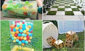 Diy Backyard Games Fun Ideas For Your Summer Parties in 13 Some of the Coolest Designs of How to Craft Backyard Fun Ideas For Kids