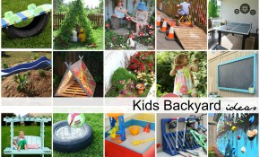 Diy Backyard Ideas For Kids 1 The Idea Room intended for 15 Smart Tricks of How to Upgrade Kids Backyard Ideas