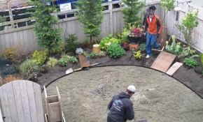 Garden Designers Roundtable Designers Home Landscapes Backyard with Gravel Backyard Ideas