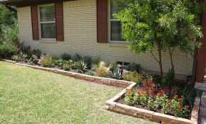 Garden Ideas For Front Of Small House Backyard Flower Bed Ideas in Backyard Garden Bed Ideas
