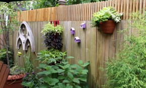Garden Wall Decoration Ideas Elegant Backyard Fence Decorating within 16 Some of the Coolest Ideas How to Craft Backyard Wall Decor