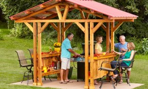 Grill Gazebo Plans Make A Grillzebo Family Handyman regarding Gazebo Ideas For Backyard