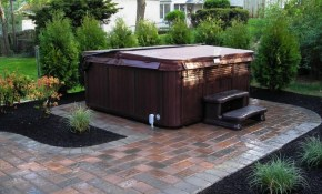 Hot Tub Landscaping Privacy Backyard Hot Tub Landscaping with 15 Genius Ways How to Improve Backyard Hot Tub Ideas