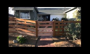 How To Build A Front Yard Fence Simple Easy Coknowpro Youtube regarding How To Build Backyard Fence