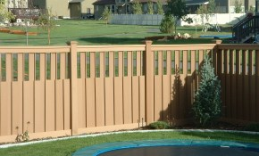 Ideas Backyard Fence Outdoor Decorations Easy Repair Backyard inside Backyard Fence Design