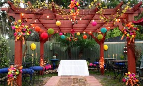 Ideas For A Budget Friendly Nostalgic Backyard Wedding Reception intended for Small Backyard Wedding Ceremony Ideas