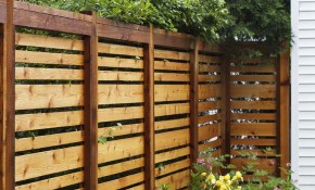 If We Ever Have To Re Build Our Fence This Style Is Awesome throughout 11 Clever Tricks of How to Make Fences For Backyards