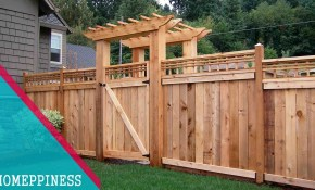 Latest Design 50 Wood Fence Ideas 2017 with 12 Genius Designs of How to Make Backyard Wood Fence Ideas